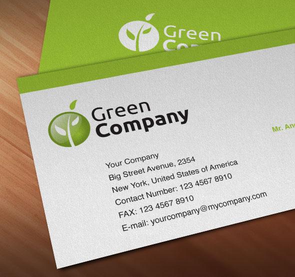 Green Company Logo by PVillage