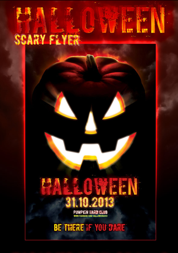 Halloween Scary Flyer