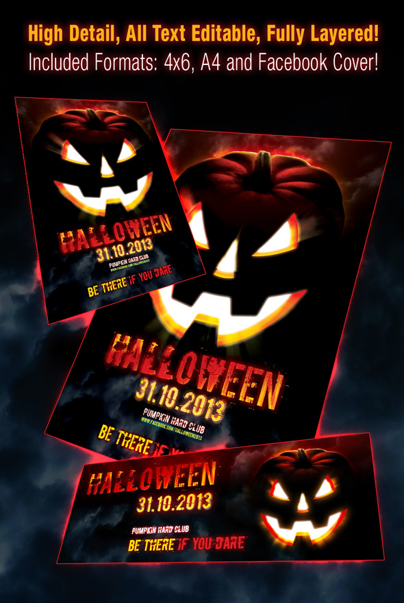 Halloween Scary Flyer B