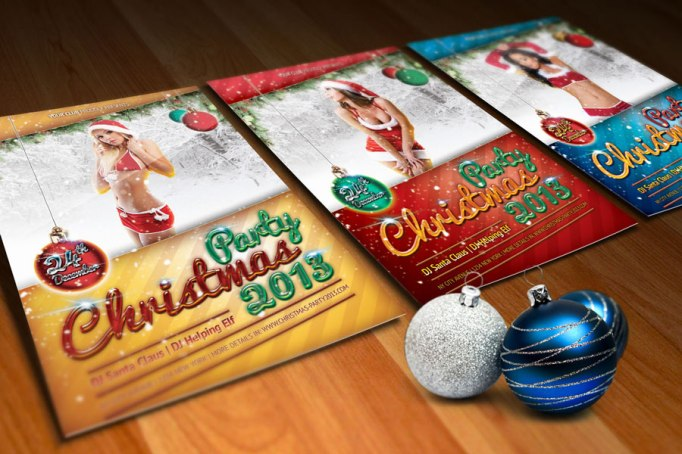 Sexy Christmas Party Flyers & Posters