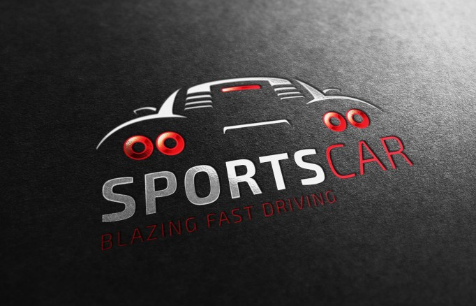New Sports Car Logo On Store Pvillage